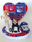 Wedding Cake Topper New York Rangers Themed NY Hockey Ball Chain Humorous Funny $69.95 USD on eBay
