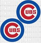 2 CHICAGO CUBS 11 x 11 inch Cornhole Decals LARGE Bean Bag Toss Sticker Baggo on Ebay
