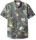 Quiksilver Men's Longa locka SS Button Down Shirt - Choose SZ/Color