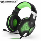 EACH G1000 PC Gaming Bass StTHeo Headset Microphone LED Laptop ComputTH lot TH
