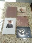 LOT OF 5 GUCCI & louis vuitton handbags LV Jewellery Catalog Book Collection