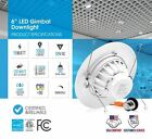 4-12 x PARMIDA 6 Inch 15W LED Retrofit Gimbal Downlight Recessed Ceiling Light <br/> Adjustable Lens, Dimmable, 5 Year Unlimited Warranty!