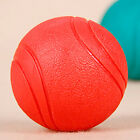 Solid Indestructible Rubber Ball Pet cat Dog Training Chew Play Fetch Bit zzvv