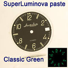 WATCHES-PARTS: HAND PAINTED SUPERLUMIA  909 DIAL VOSTOK AMPHIBIA 3 KINDS OF LUME image