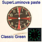 WATCHES-PARTS: HAND PAINTED SUPERLUMIA  650 DIAL VOSTOK AMPHIBIA 3 KINDS OF LUME image