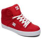 DC Shoes Men's Pure High-Top WC TX LE Sneaker Shoes Red Trainers