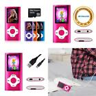 Mp3 Mp4 Player Digital Compact Portable 64 Gb Sd Card Video Radio Voice Record