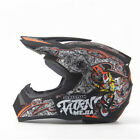 Full Face Motorcycle Motorbike Helmet Motocross Racing Off-Road Bike Helmet ABS