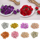 100pcs Rose Bud Decorative Synthetic Flowers in 10 Colours - Mini Rose Buds