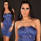 Women's Mini dress with padded cups and sequins Party Evening Dress