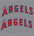 "2 Los Angeles Angels Cornhole Decals LARGE 17.5x6.5"" Bean Bag Toss Baggo on Ebay"