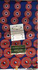 African Wax Print Cotton Ankara Fabric Superior Quality Bright Per Yard / 6 Yard