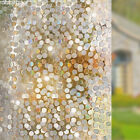 Rabbitgoo 3D window film clings for home privacy decorative Mirrored Circles A