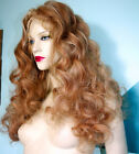 Front Lace Wig Wigs Remi Remy Indian Human Hair Blonde Mix Premium Quality