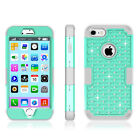iPhone 7 Plus Case Shockproof Shine Stone Rugged Armor Cover For iPhone 7 Case