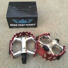 SE RACING BIKES BEAR TRAP PEDALS 9/16 FOR 3 PC CRANKS BMX BIKE PEDAL HARO GT