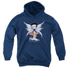 BETTY BOOP MUSHROOM FAIRY Youth Hoodie Pull-Over $33.99 USD on eBay