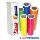 "SISER EasyWeed Heat Transfer Vinyl 15"" X 1, 5, 10 Yards, for Tshirt, Iron On"