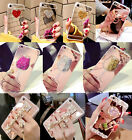 Girl's Luxury Mirror Bling Diamond Soft Case Cover for Samsung Galaxy S9/S9 Plus