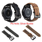 22MM Genuine Luxury Leather Strap Band For Samsung Gear S3 Frontier/ Classic
