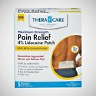 TheraCare Lidocaine 4% Pain Relief Patch - 5ct $7.99 USD on eBay