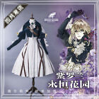 2018 Anime Violet Evergarden Cosplay Costume Gothic Cosplay Outfit Women Dress