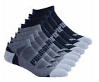 Puma Men's No Show Socks 8-pair Black or White Set L XL Exte