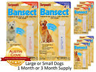 Sergeants Bansect Squeeze On Flea & Tick Control for Dogs - Under & Over 33 Lbs