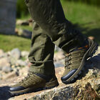Mens Running Hiking Trail Athletic Brown Suede casual Waterproof Shoes 10 105