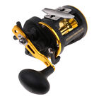 Trolling Saltwater Fishing Reel + Counter 3BB 22lbs Boat Fishing Drum Reels