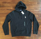 $125 NWT Polo Ralph Lauren Mens Black Martini Tuxedo Bear Hoodie LIMITED EDITION