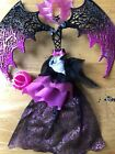 Moster High Draculaura Outfit With Wings