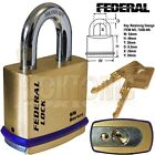 Federal FD720B Super Heavy Duty Solid Brass Padlock