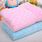 warm and soft Pet Flannel Blanket Cat Dog Comfortable Bed Puppy Cushion E0600