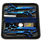 Professional Hairdressing Barber Hair Cutting Thinning Scisors Pet Set 7""