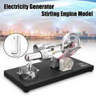 Hot Air Mini Stirling Engine Model Steam Powered Generator Physics Experiment