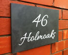 PERSONALISED ENGRAVED SLATE HOUSE NAME SIGN