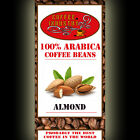 Almond Flavour Coffee Beans Arabica Organic Flavoured Ground Free P&P