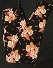 NWT Boutique PLUS Buttery Leggigs 🌺👖🌺Black With Brown Flowers SOFT