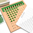 Math Wooden Toy Multiplication and Division Bead Board for Early Child Training