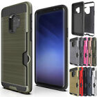 Shockproof Credit Card Slot Holder Wallet Case For Samsung Galaxy S8+ S9 Plus S7