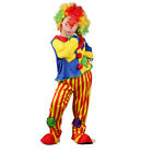 Magideal Funny Clown Costume Circus Party Halloween Kids Role Play Fancy Dress