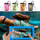 Waterproof Armband Pouch Underwater Dry Bag Phone Case Cover For Cell Phone ≦ 6""