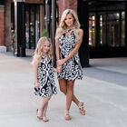 Mother and Daughter Boho Clothes Parent-child dress Family Matching Outfits Set