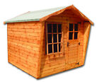 Wooden Summer House, 8x6 8x8 10x6 10x8 10x10 10x12ft Thick Timber Used