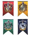 Harry Potter Party College Flags Banners Gryffindor Ravenclaw Home Door Decor US