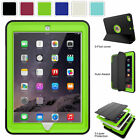 Shockproof 360 Full Protective Cover Hard Case For Apple iPa