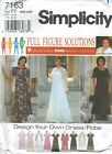 Simplicity 7163 Women's Dresses 18W to 24W   Sewing Pattern