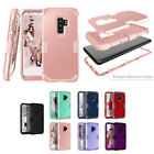10pcs/lot Hybrid 3 in 1 Shakeproof TPU+PC Armor Case for Samsung Galaxy S9 S9+