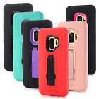 10pcs/lot Hybrid 3in 1 Armor Shockproof Kickstand Case for Samsung Galaxy S9 S9+
